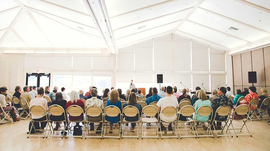 Sunday Gatherings of Awakening, Atascadero Lake Pavilion