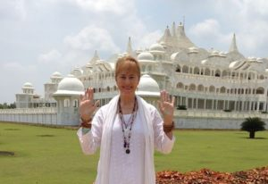 Terry at Oneness University in India